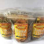 Stink-free, reasealable dried fish I ordered online