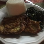 Ugali, Fish and spinach/Kale tasted great!