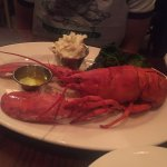 Lobster with two side dishes