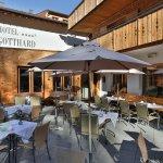 Terrasse im Hotel Gotthard****s