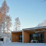 Poiju Villas in winter