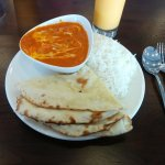 Butter chicken lunch special