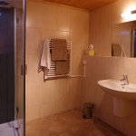 All bathrooms are the same with shower units, underfloor heating and heated towel rail.