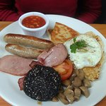 The BIG breakfast at Conor cafe!