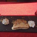 """Dessert du jour """"nougat glacé"""""""
