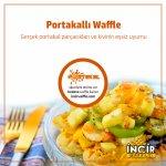Nefi portakallı Waffle