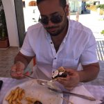 Best gyro I've ever had! This probably the best greek food I've had in Athens, Mykonos and Santo