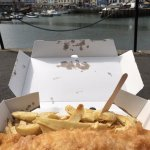 Regular size cod and chips!