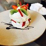 Десерт Павловой, вкусно!