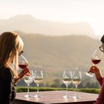 Wine tasting with a breathtaking view