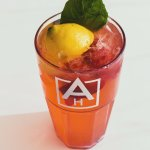 Summer Feature! Fresh Squeezed Strawberry-Basil Lemonade