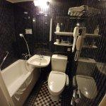 Bathroom of a single room