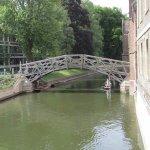 Punts and Mathematics Bridge