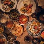 Mixed plates at the Mughli Manchester