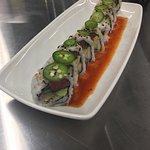 Hawaiian American fusion sushi rolls