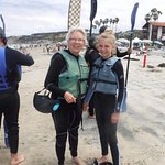 My 13 year old granddaughter and me (almost 70 years old) ready for our kayak tour.
