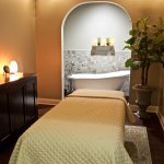 Soak away the day's aches and pains then enjoy a relaxing massage or body treatment