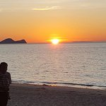 Sunset at Damai Beach Resort