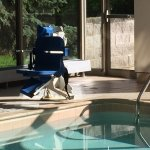 LOVE the handicap lifts on pool and hottub