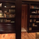 Secret passage entrance from the highest library in the world. (Accessible from Executive Lounge