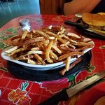 Mound of fries!
