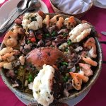 The Paella of Mita Gourmet. You have to try it.