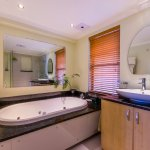 Luxury Forest  Seaview Suite has deluxe ensuite bathroom with spa bath and modern shower