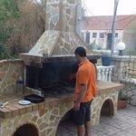 Lovely BBQ on Greek Night