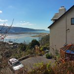 Our stunning situation above the Mawddach Estuary