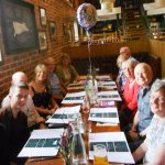 my 80th birthday lunch celebration for 12