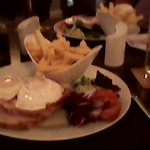 Gammon Egg & Chips