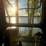 Amazing view from the Vintage Airstream