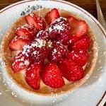 """strawberry """"pie"""" tartlet"""