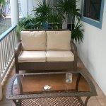 Coral Suite - private patio