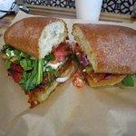 St. Zucca vegetarian sandwich