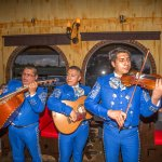 Marichi band on Cinco de Mayo - we do this a few times a month for special occasions!