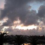 dramatic sunrise from m y balcony