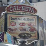 Casino Sign With Meal Deals