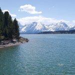 Grand Tetons and Jackson Lake