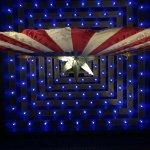 American flag in the Shrine Room.