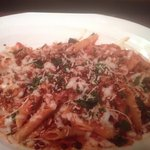 Baked Ziti Al Forno ( Sinatra Style) with home made spicy sausage