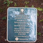 Commemorative Plaque for the Forthingall Yew being included in the 50 Great British Trees.