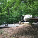 Beautiful camping areas....some quite large!