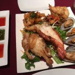 Mixed seafood starer at RICE Thai, Bedford