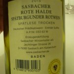 Mein bester Wein aus Deutschland!