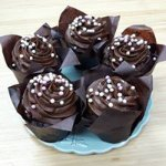 Chocolate Espresso Cupcakes...one of our many made fresh from scratch treats!