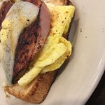 This was our breakfast!  The ham is wonderful! Everything else is addressed on a previous review