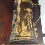 Extra large stein on display