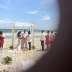 We had a beautiful ceremony on the beach . A great reception at the Caribbean resort villas . Th
