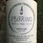 Raw Bio-beer made by Sant'Egle with spirulina grown on the grounds